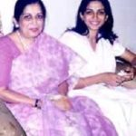 Poorva Gokhale with her mother Kanchan Gupte