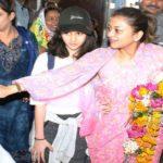 Priyadarshini Scindia With Her Daughter
