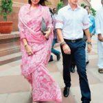 Priyadarshini Scindia With Her Son