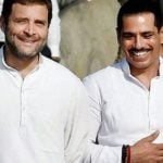 Rahul Gandhi with his brother in law Robert Vadra