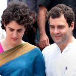 Rahul Gandhi with his sister Priyanka Gandhi