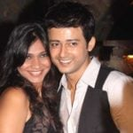 Rahul Lohani with his wife