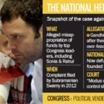 Rahul Gandhi was accused in National Herald Case