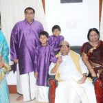 Rajathi Ammal With Her Husband, Daughter, Son-In-Law, And GrandChildren