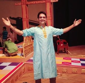 Rajeev Bhardwaj as a theatre artist