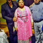 Rithvik Dhanjani with his parents