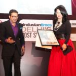 Ritu Beri with Top 20 Stylish Men & Women Award