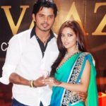Riya Sen with Sreesanth
