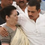 Robert Vadra with his mother Maureen Vadra