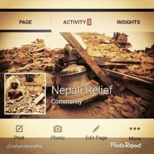 Rohan Shrestha - Nepal Relief