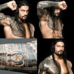 Roman Reigns - Traditional Samoan Tribal Tattoo