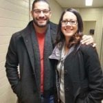 Roman Reigns With His Sister Vanessa