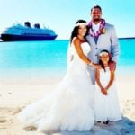Roman Reigns and Galina Becker's Marriage Photo