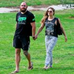 Ronda Rousey With Travis Browney