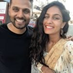 Roshni Devlukia Shetty with Jay Shetty