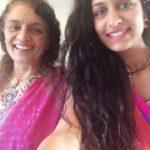 Roshni Devlukia with her Mother