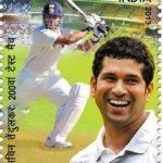 Sachin Tendulkar Postal Stamp