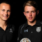 Sam Curran with his brother Tom Curran