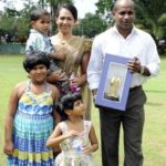 Sanath Jayasuriya with his Family