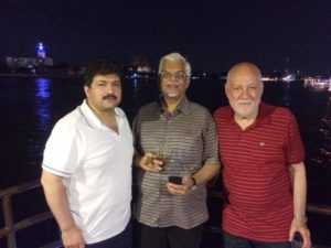 Sanjaya Baru Drinking and Smoking