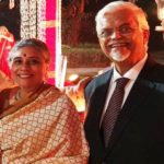 Sanjaya Baru With His Wife