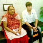 Sapna Choudhary's Mother And Brother Karan