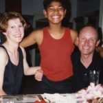 Saroo Brierley with Adoptive Parents
