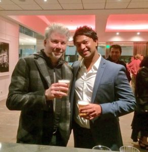 Saroo Brierley while Drinking