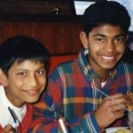 Saroo Brierley with Mantosh