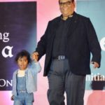 Satish Kaushik With His Daughter