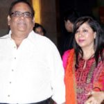 Satish Kaushik With His Wife