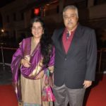 Satish Shah With His Wife