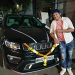 Saurish Singh Athwal with his car