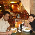 Sharat Katariya With His Wife