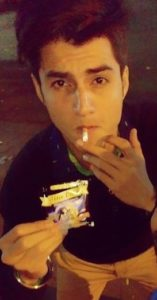Shashwat Tripathi Smoking