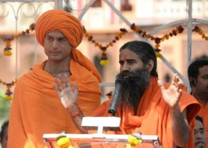 Shivendraa with Baba Ramdev