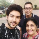Shivin With His Parents
