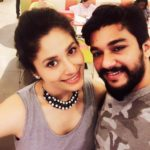 Shubhaavi Choksey with her husband Harshal Choksey