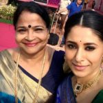 Shubhaavi Choksey with her mother