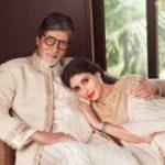 Shweta Bachchan Nanda with Amitabh Bachchan