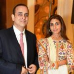 Shweta Bachchan Nanda with Husband