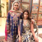Shweta Bachchan Nanda with Jaya Bachchan