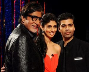 "Shweta Bachchan in ""Koffee with Karan"""