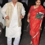 Sitaram Yechury with his wife Seema Chisti