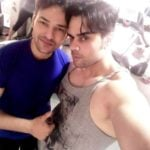 Sonal Handa with his brother Nitish Handa