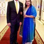 Sonali Jaffar with her husband Amir Jaffar