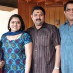 Sreelakshmi Sreekumar Step Siblings with their parents (Mother-Shoba Sreekumar)