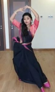 Sreelakshmi Sreekumar doing Classical Dance