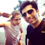 Sumit Kaul with his daughter Eedha Kaul