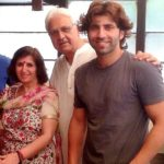 Sumit Kaul with his parents